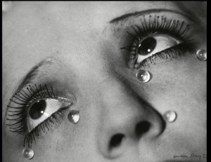 "Photo Credit: ""Glass Tears"" by Man Ray"