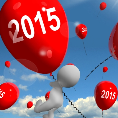 """Photo Credit: """"Two Thousand Fifteen On Balloons Shows Year 2015"""" by Stuart Miles"""
