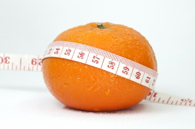 orange measuring tape