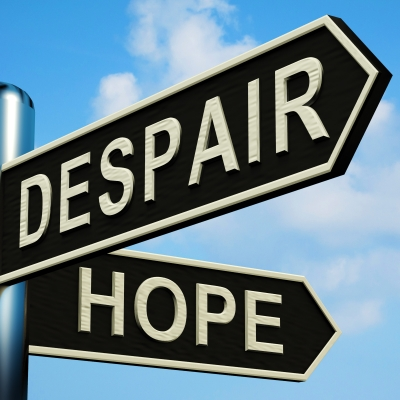 despair, hope