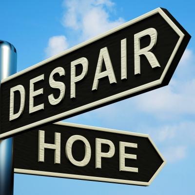 despair, hope